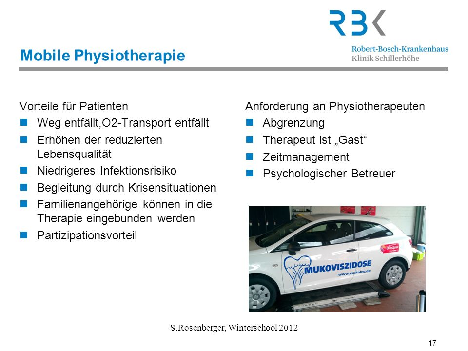 Mobile Physiotherapie