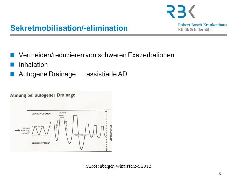 Sekretmobilisation/-elimination