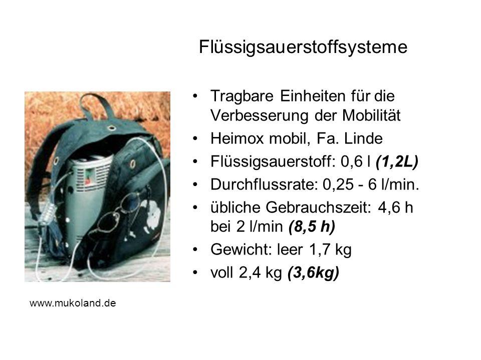 Flüssigsauerstoffsysteme
