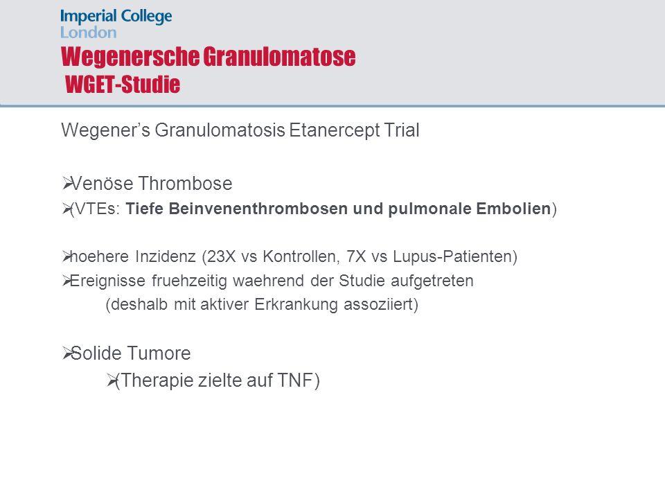Wegenersche Granulomatose WGET-Studie