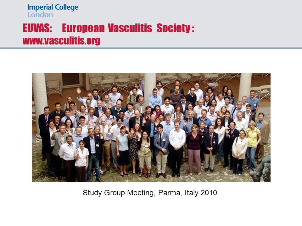 EUVAS: European Vasculitis Society : www.vasculitis.org