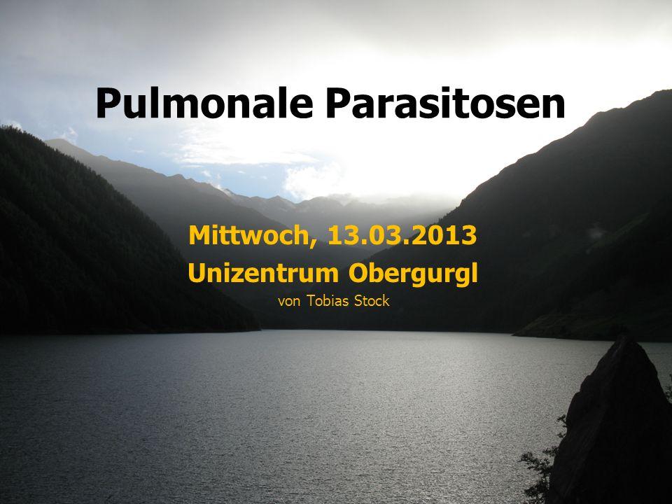 Pulmonale Parasitosen