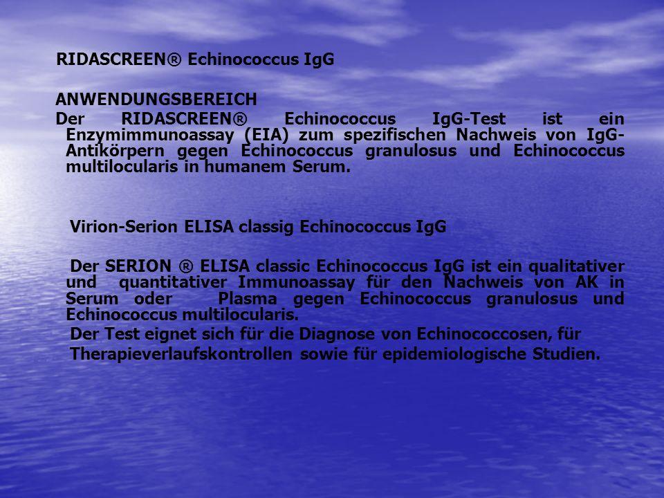 RIDASCREEN® Echinococcus IgG