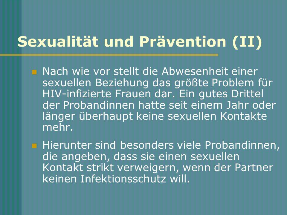 Sexualität und Prävention (II)