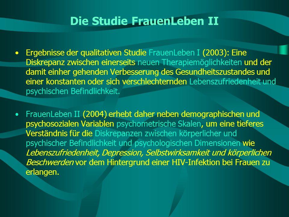 Die Studie FrauenLeben II