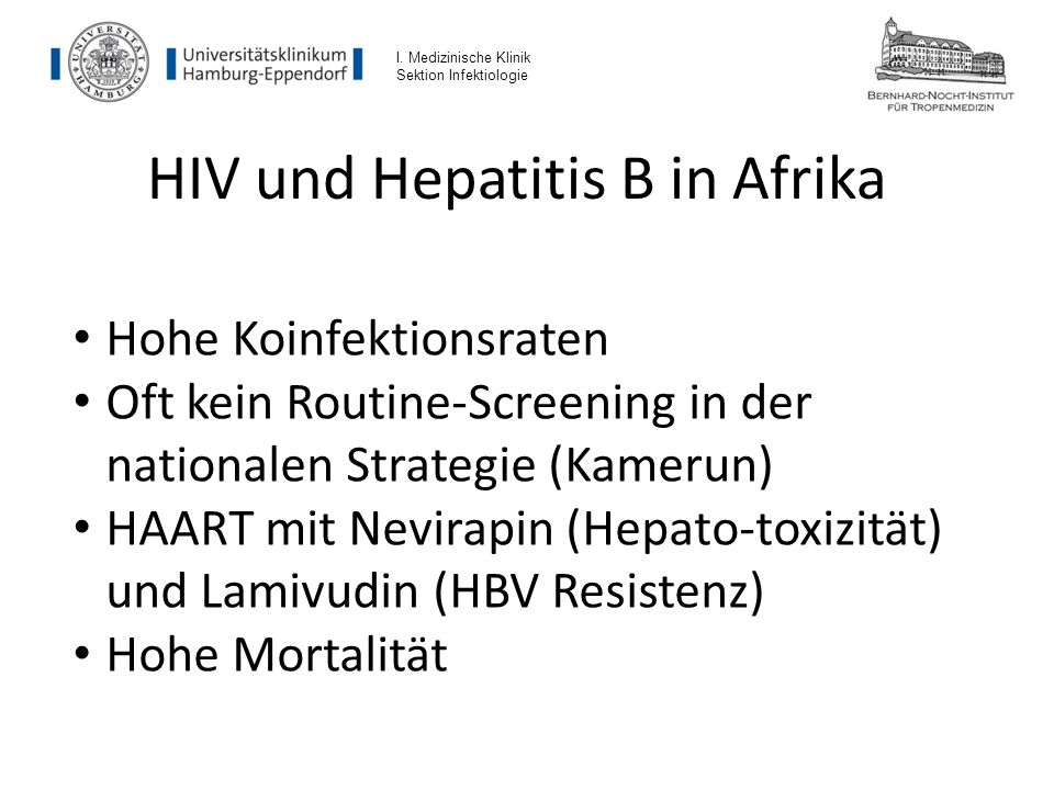 HIV und Hepatitis B in Afrika