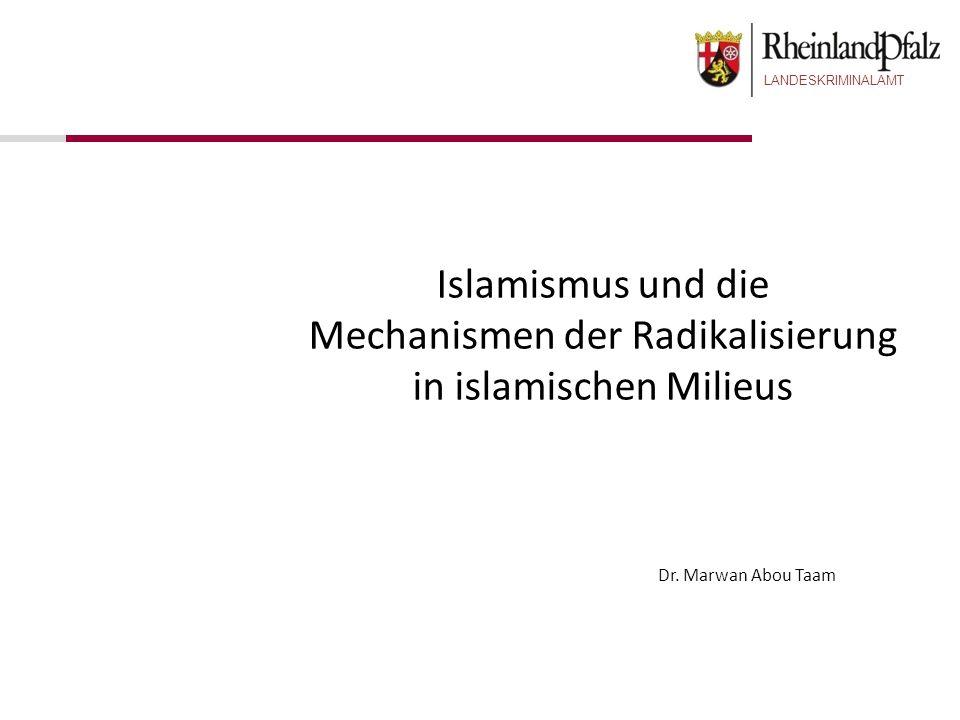 Mechanismen der Radikalisierung in islamischen Milieus