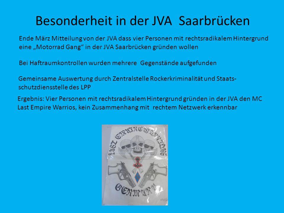 Besonderheit in der JVA Saarbrücken