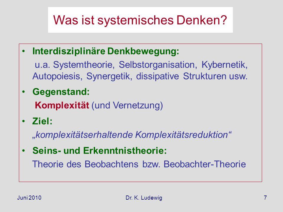 Was ist systemisches Denken