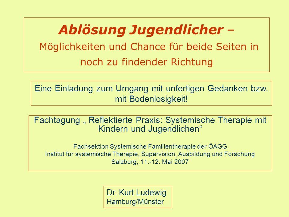 Fachsektion Systemische Familientherapie der ÖAGG