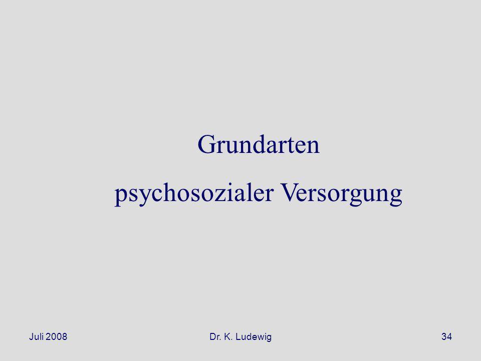 psychosozialer Versorgung