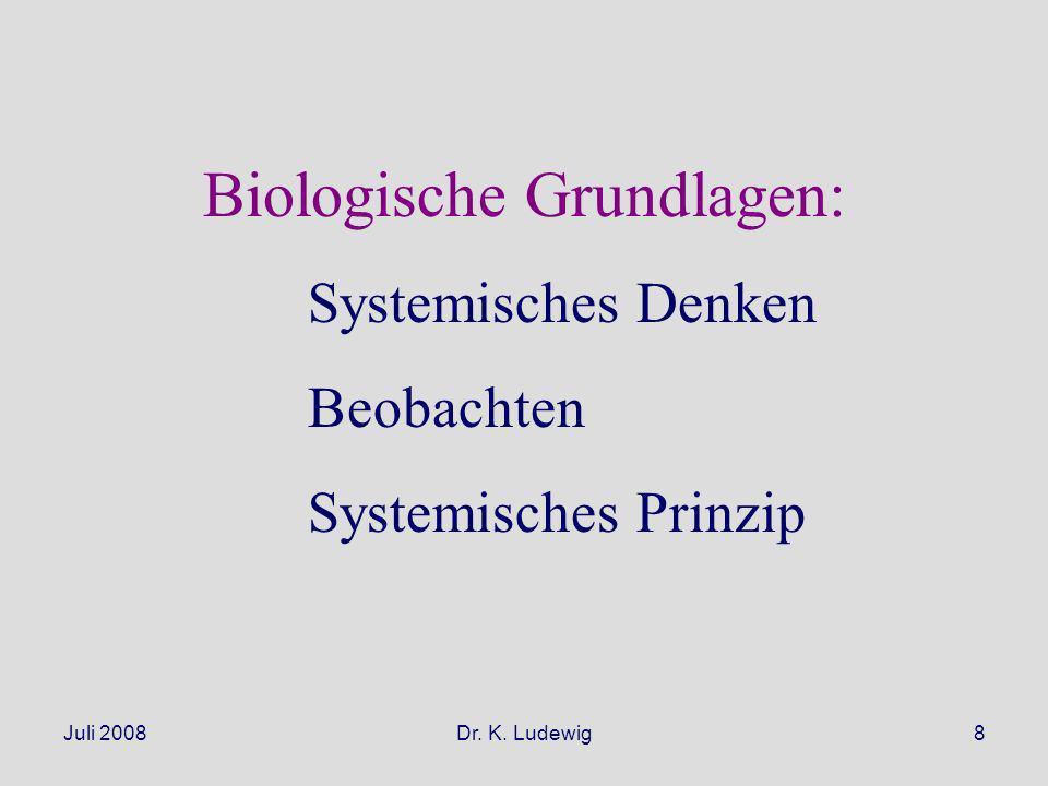 Biologische Grundlagen: