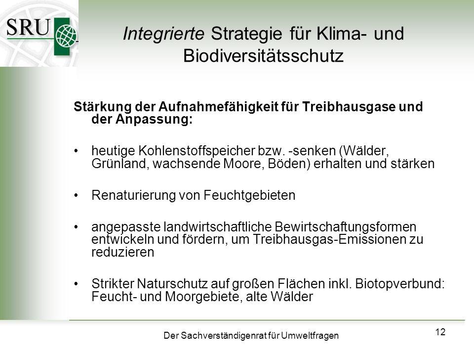 Integrierte Strategie für Klima- und Biodiversitätsschutz
