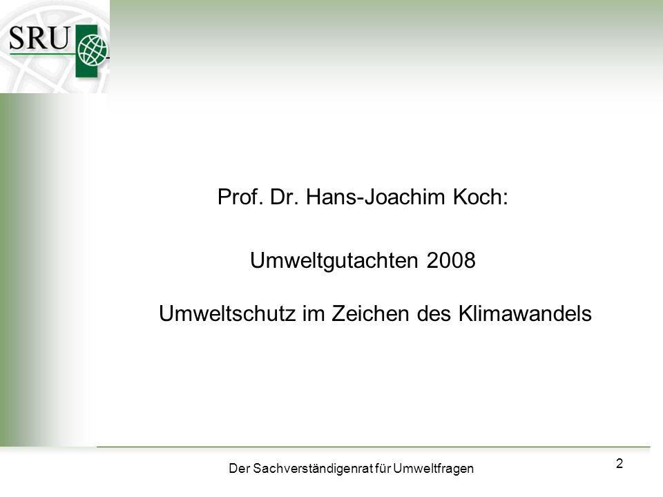Prof. Dr. Hans-Joachim Koch: