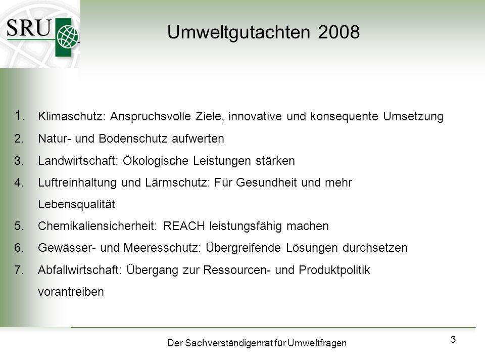 Umweltgutachten 2008