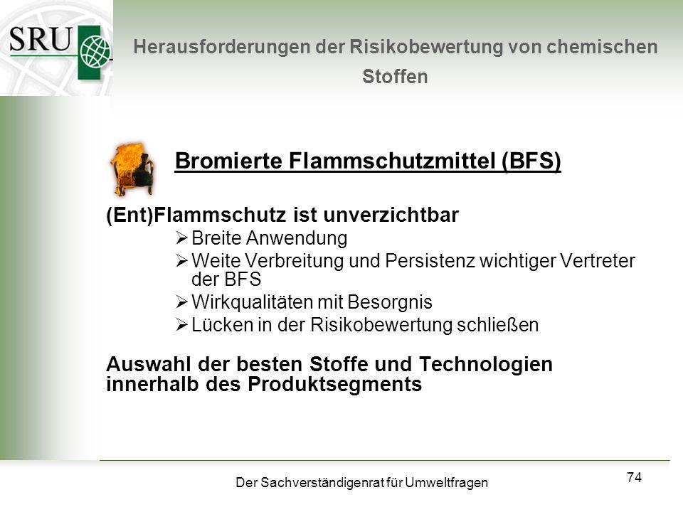 Herausforderungen der Risikobewertung von chemischen Stoffen