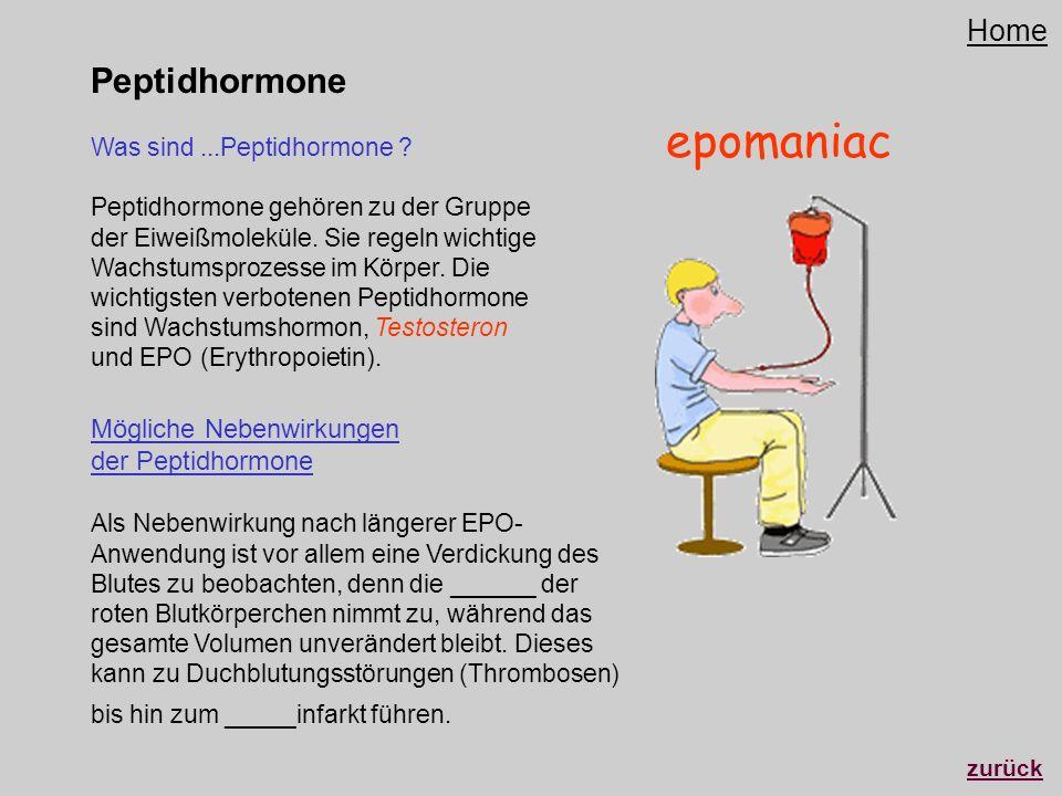 epomaniac Peptidhormone Home