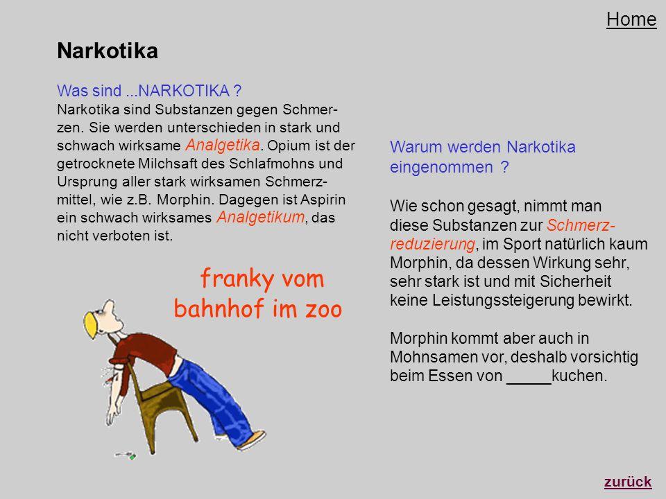 franky vom bahnhof im zoo