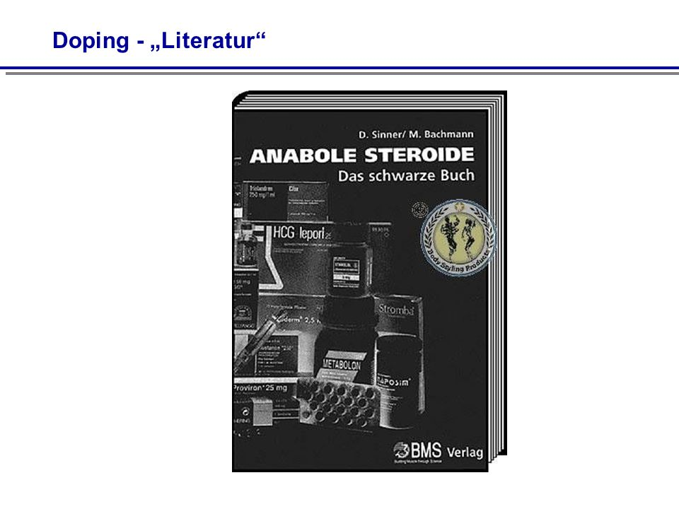"""Doping - """"Literatur"""