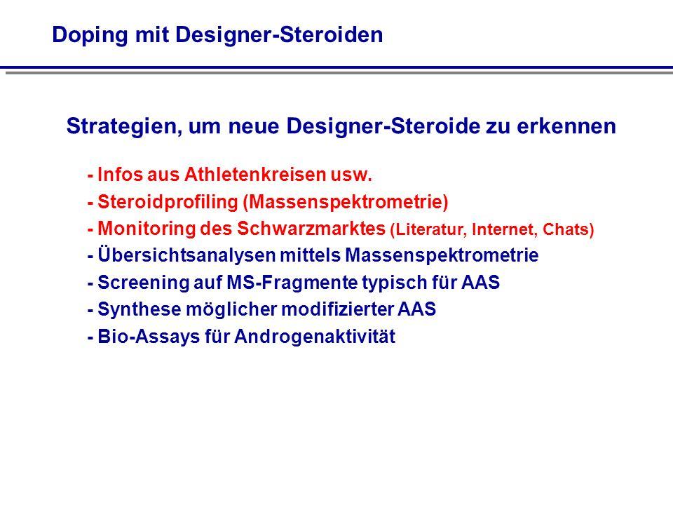 Doping mit Designer-Steroiden