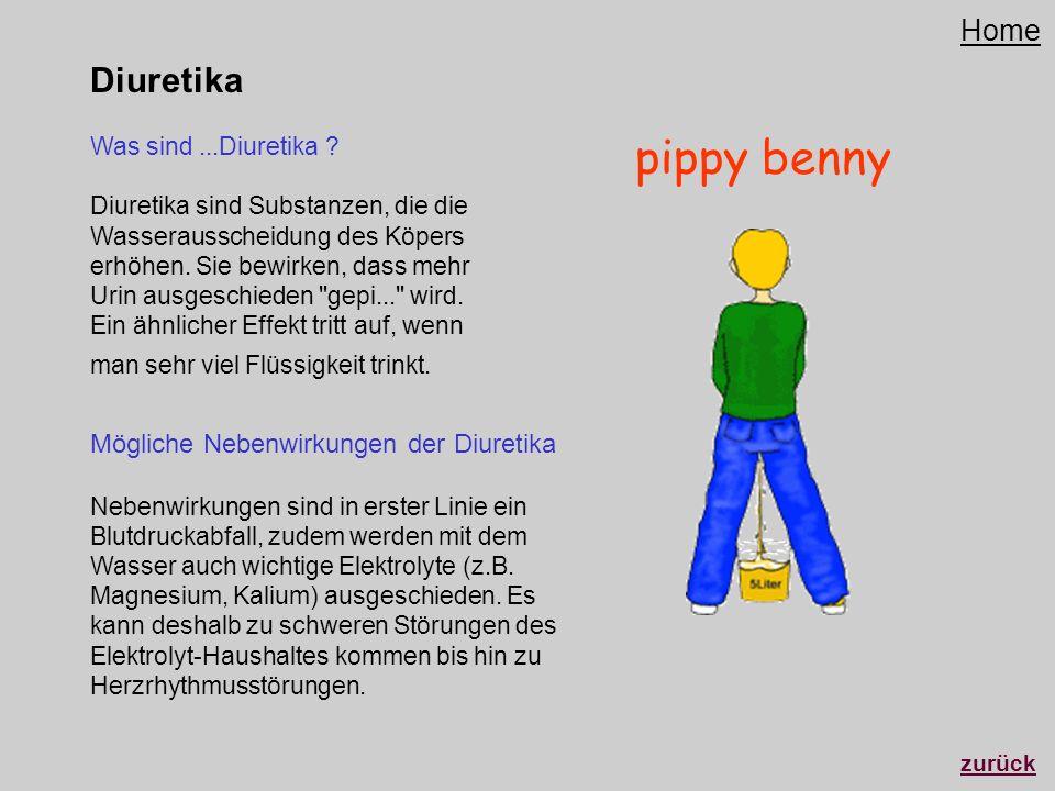 pippy benny Diuretika Home
