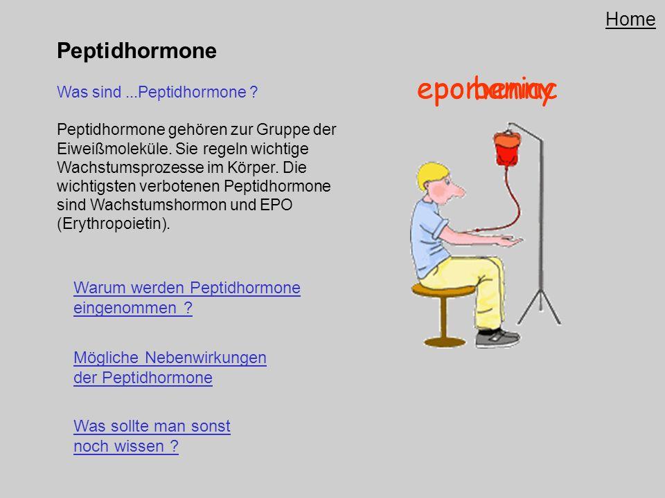 epo benny epomaniac Peptidhormone Home