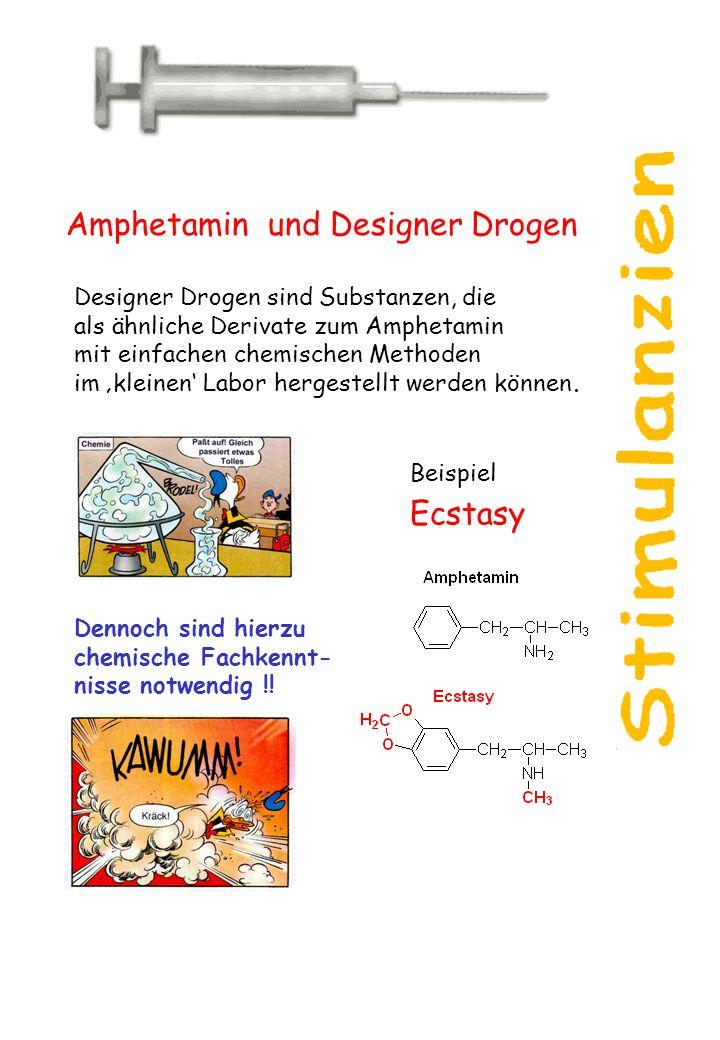 Amphetamin und Designer Drogen
