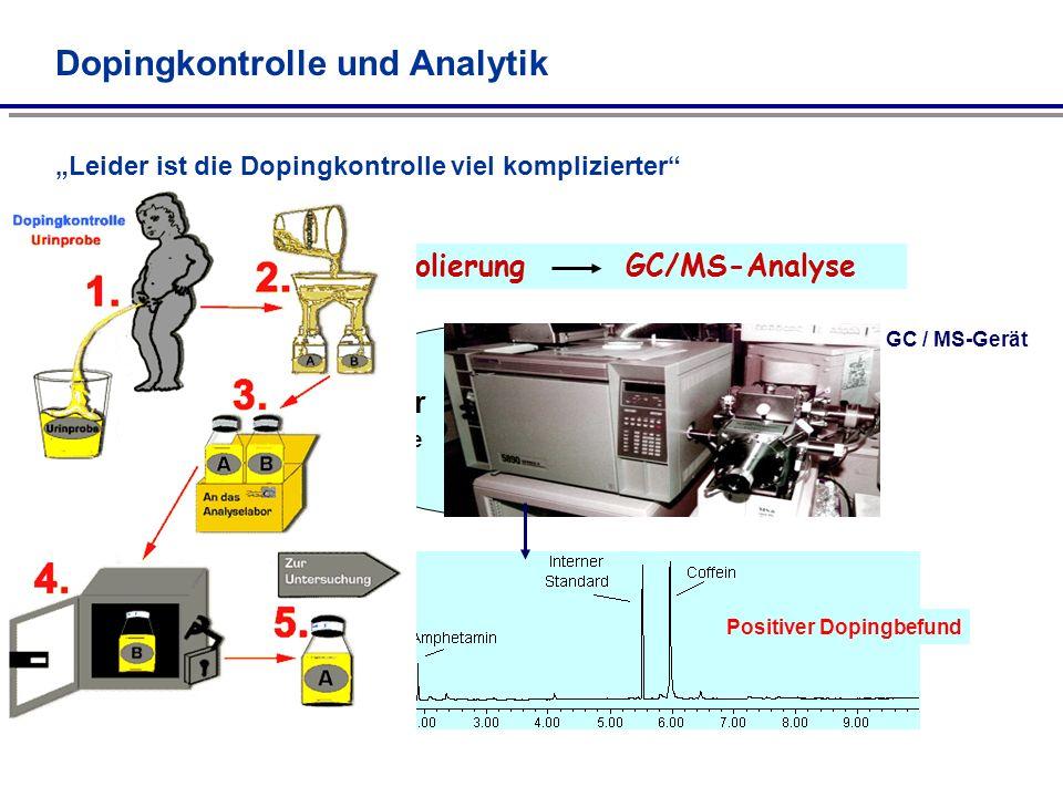 Dopingkontrolle und Analytik