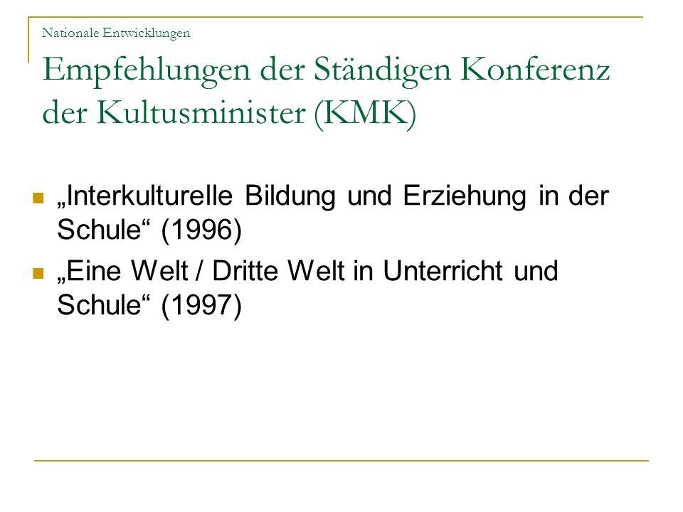 """""""Interkulturelle Bildung und Erziehung in der Schule (1996)"""
