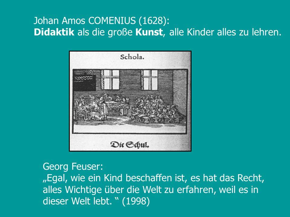 Johan Amos COMENIUS (1628):