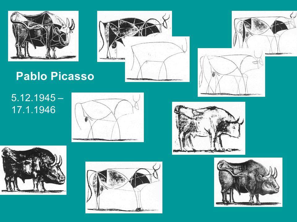Pablo Picasso 5.12.1945 – 17.1.1946.