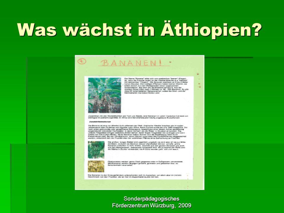 Was wächst in Äthiopien