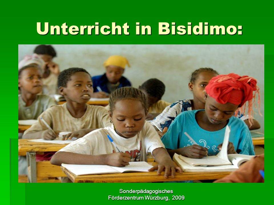 Unterricht in Bisidimo: