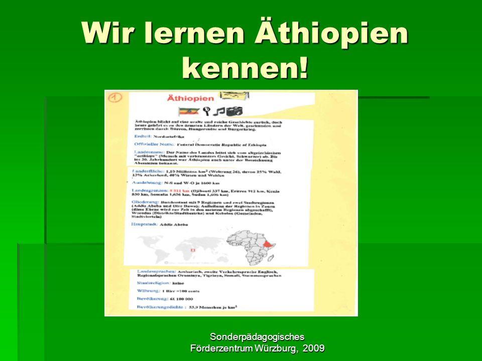 Wir lernen Äthiopien kennen!