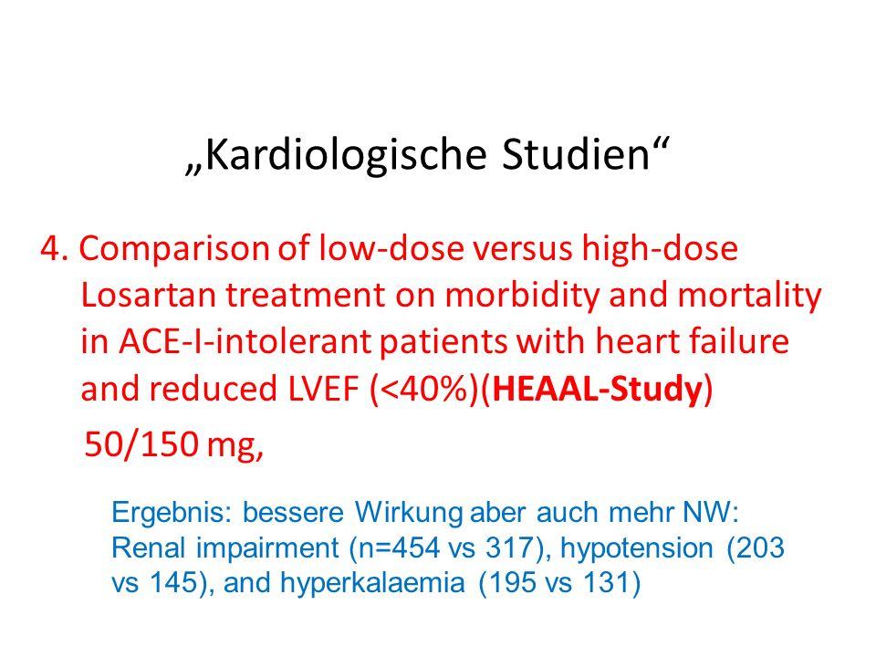"""""""Kardiologische Studien"""