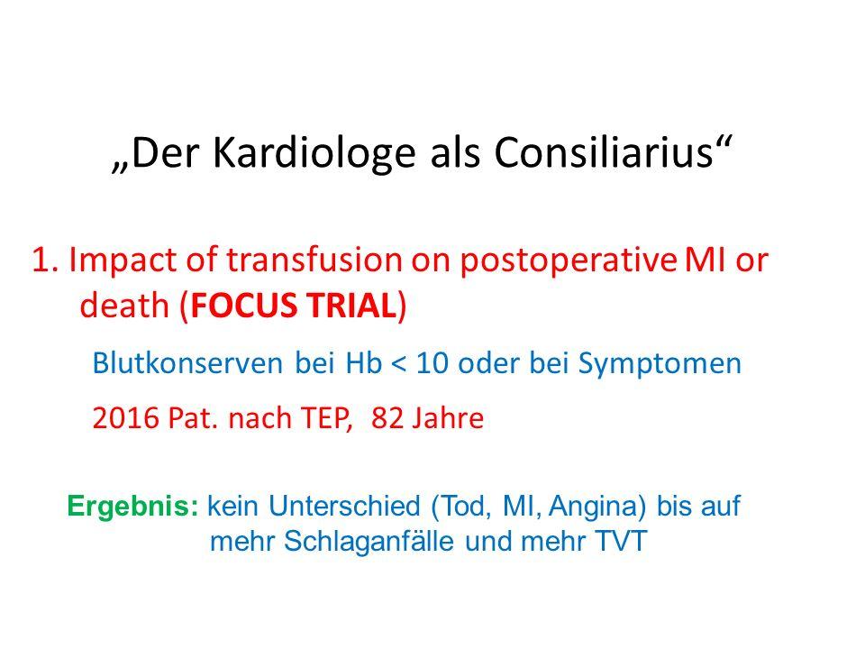 """Der Kardiologe als Consiliarius"