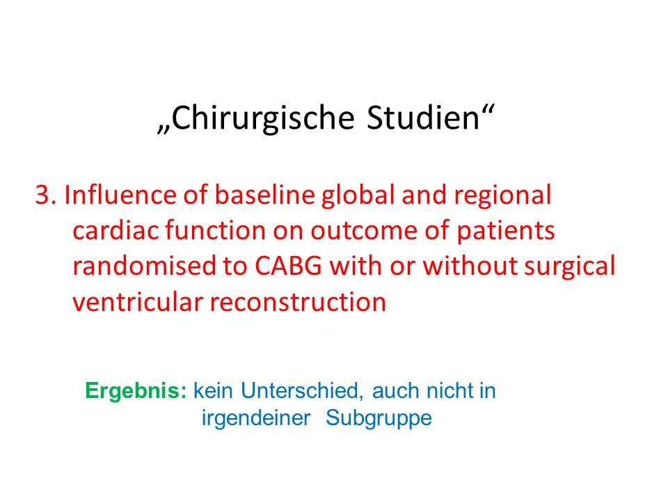 """""""Chirurgische Studien"""