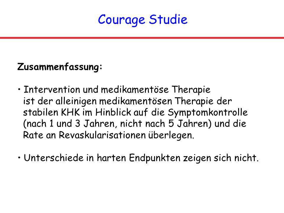 Courage Studie Zusammenfassung:
