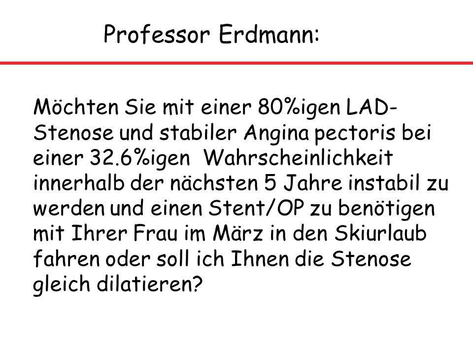 Professor Erdmann:
