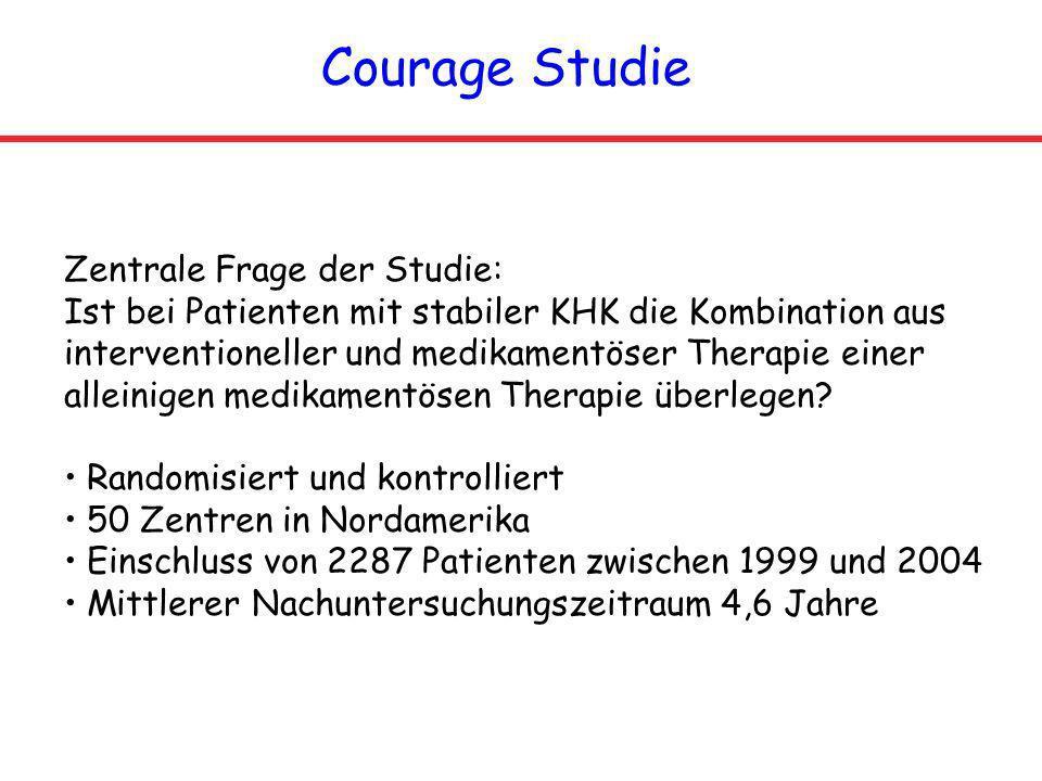Courage Studie Zentrale Frage der Studie: