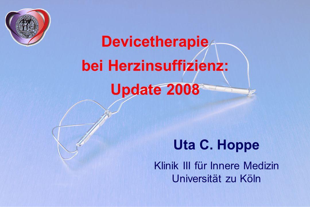 Devicetherapie bei Herzinsuffizienz: