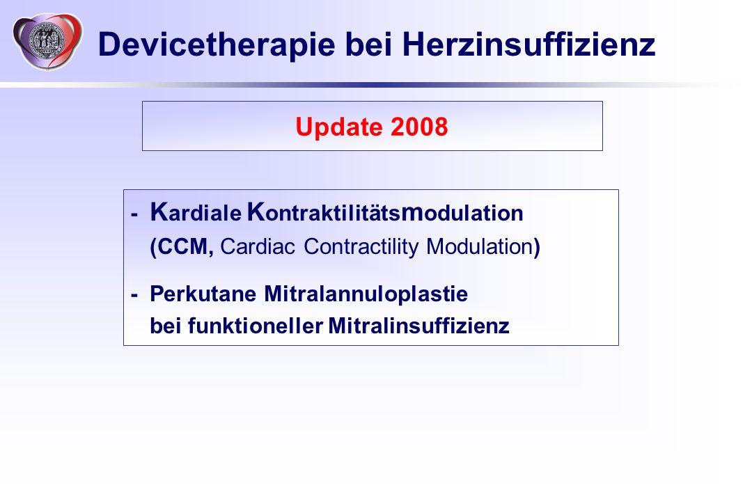 Devicetherapie bei Herzinsuffizienz