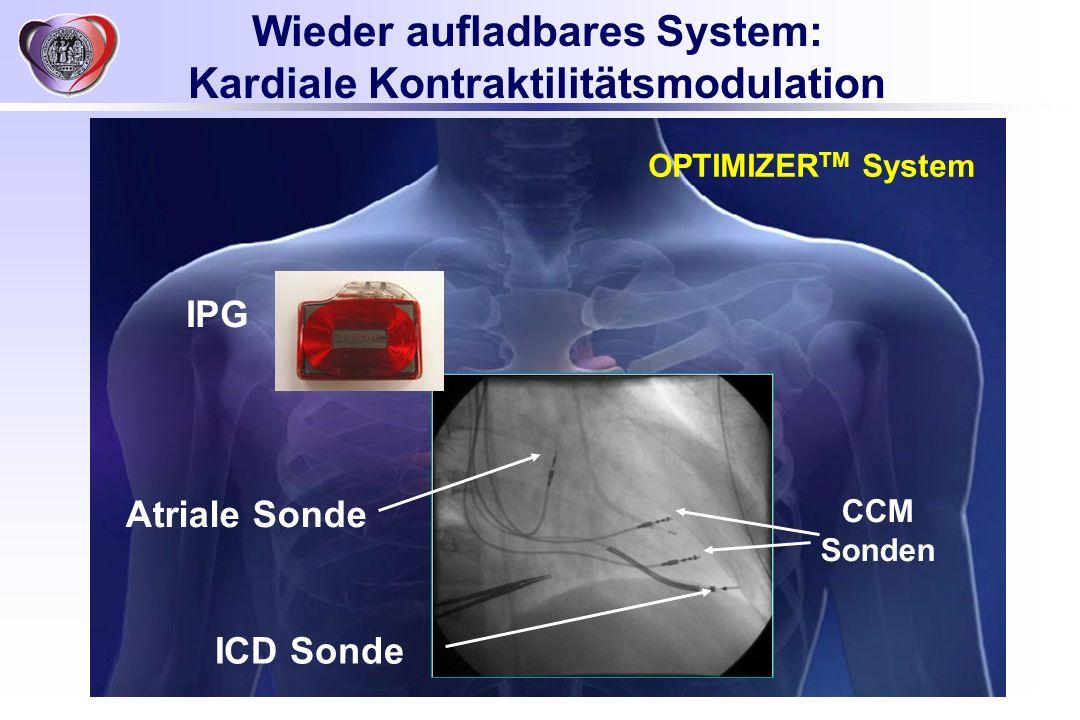 Wieder aufladbares System: Kardiale Kontraktilitätsmodulation
