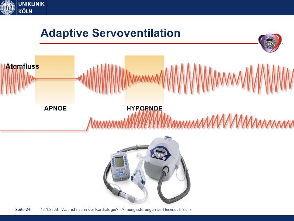 Adaptive Servoventilation