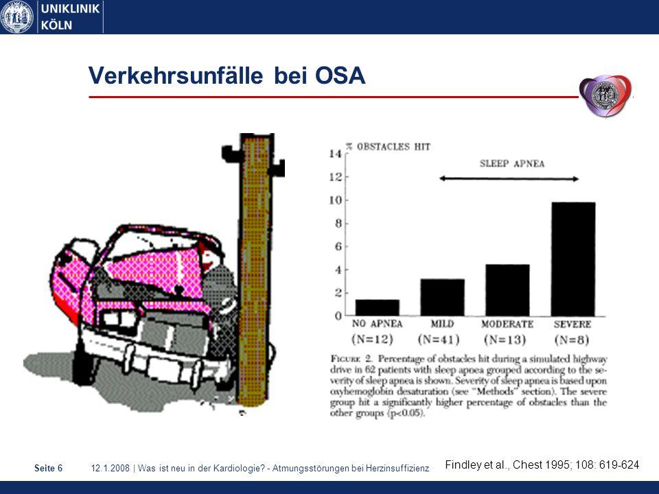 Verkehrsunfälle bei OSA