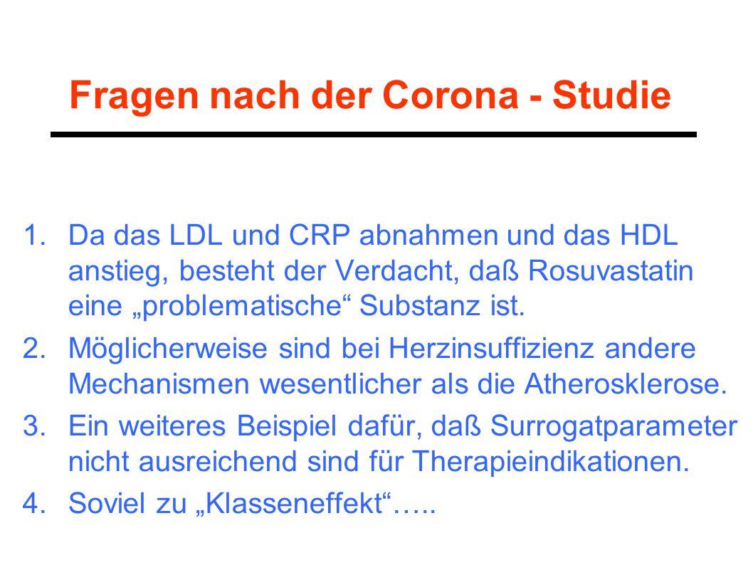 Fragen nach der Corona - Studie