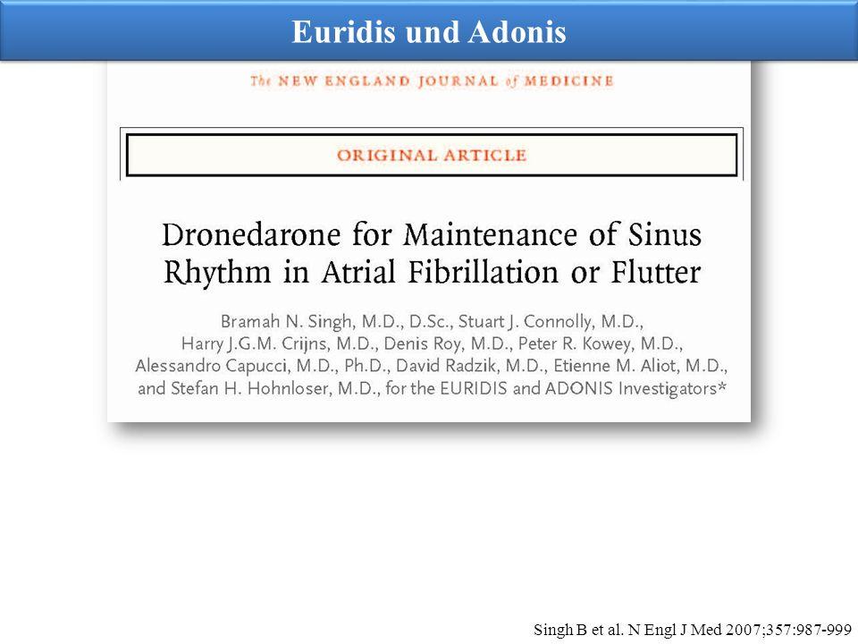 Euridis und Adonis Singh B et al. N Engl J Med 2007;357:987-999