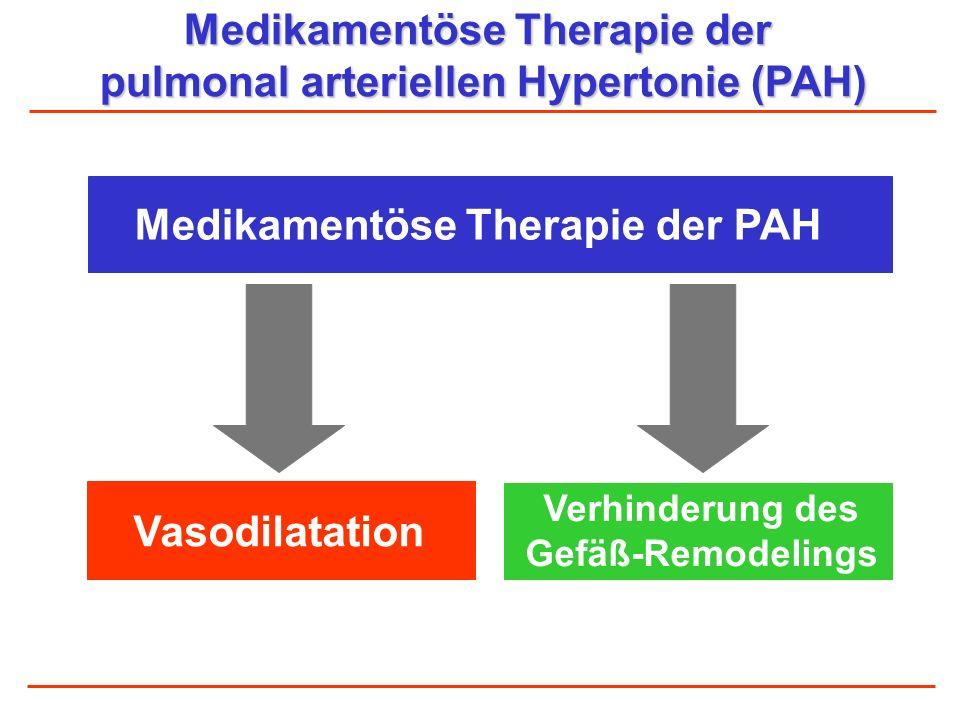 Medikamentöse Therapie der pulmonal arteriellen Hypertonie (PAH)