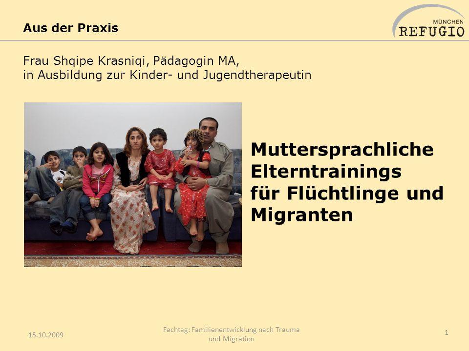 Fachtag: Familienentwicklung nach Trauma und Migration