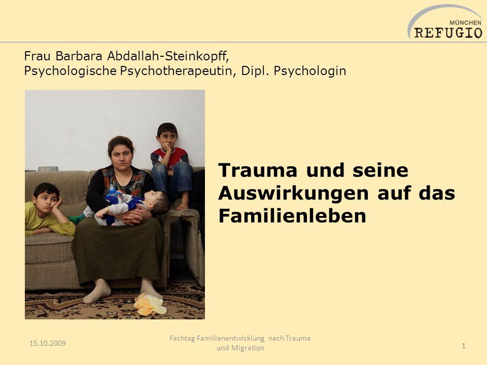 Trauma und seine Auswirkungen auf das Familienleben